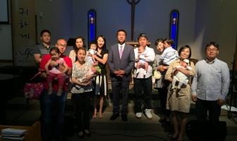 040515 부활주일 세례식